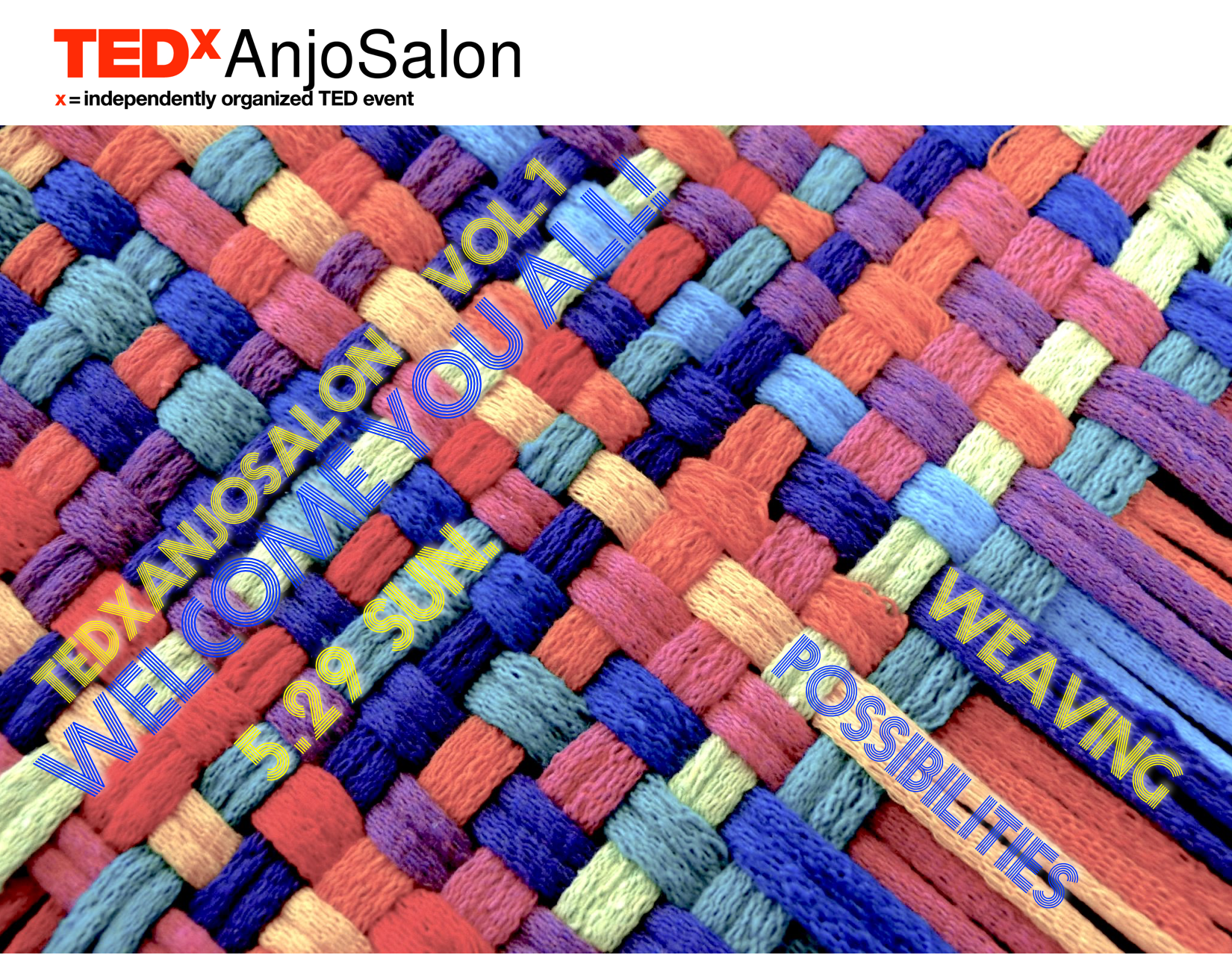 TEDxSalonVol.1ビジュアル