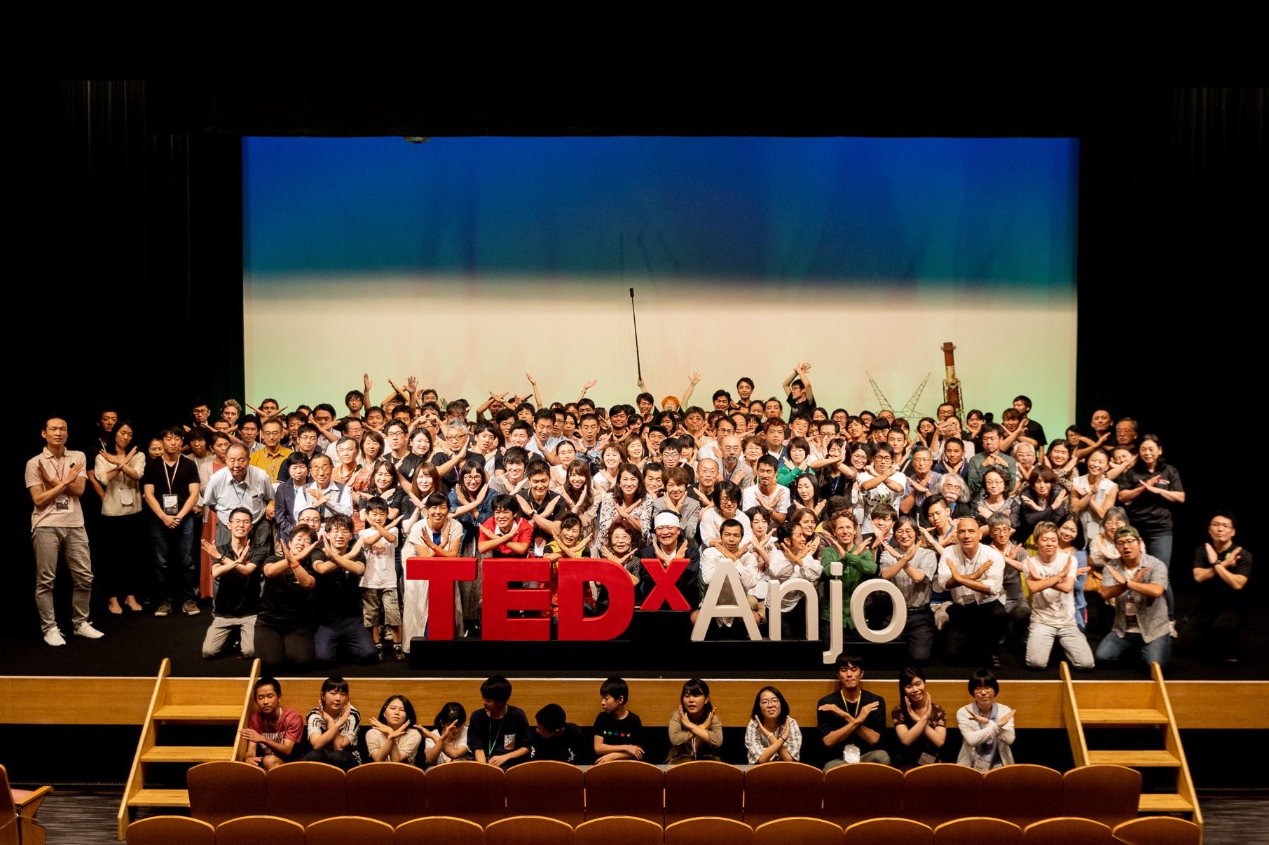 TEDxAnjo2019の写真を公開しました!